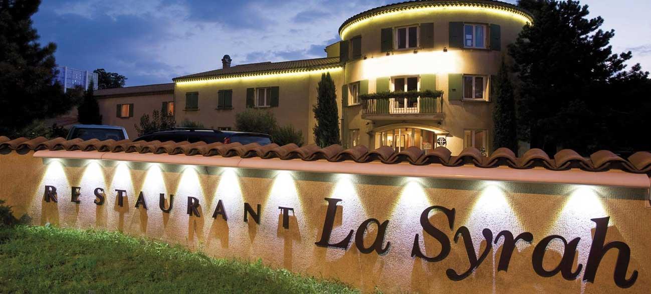 Restaurant de l'hôtel Best Western Clos Syrah à Valence