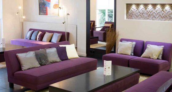 Salon de l'hôtel Best western Plaisance en Beaujolais