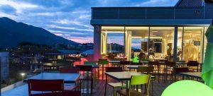 Terrasse de l'hôtel Best Western Aquakub à Aix-les-BainsTerrasse de l'hôtel Best Western Aquakub à Aix-les-Bains