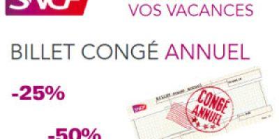 Billet annuel de train SNCF pour les vacances