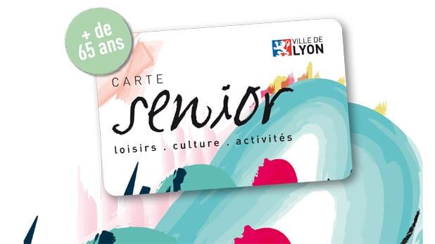 carte senior Lyon procurant des avantages sur les loisirs