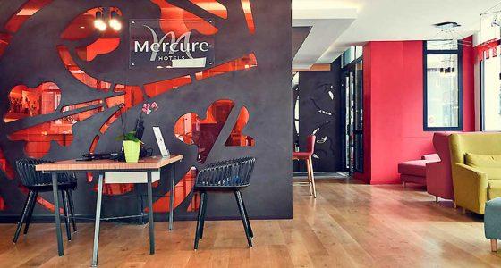 Hall de l'Hôtel Mercure Amiens Cathèdrale