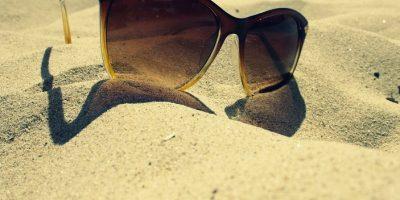 Monture de lunettes solaires pour les vacances à la plage