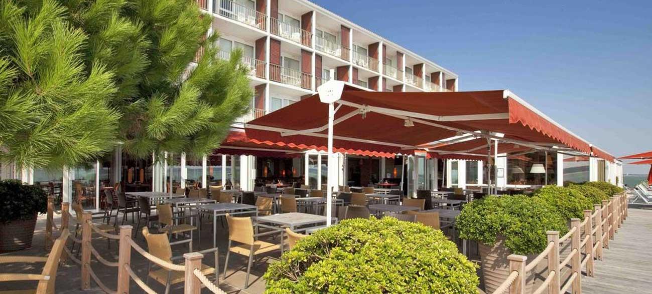 Restaurant de l'hôtel Thalassa Oleron Saint Trojan