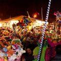 déguisements colorés lors du carnaval de Dunkerque