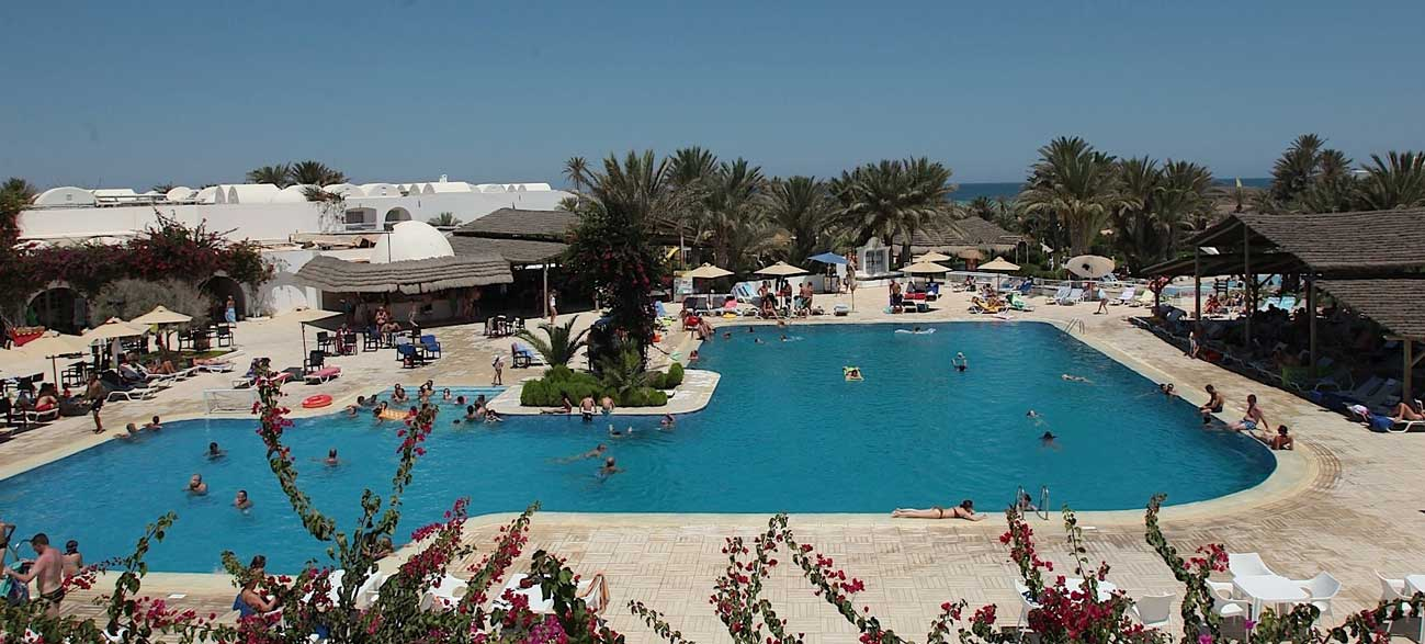 Piscine du Seabel Rym Beach à Djerba
