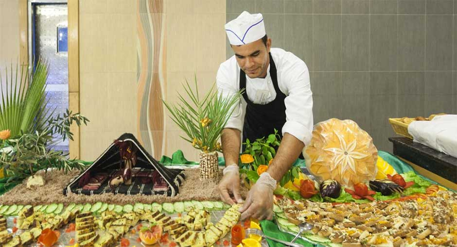 Restaurant du Seabel Rym Beach Djerba en Tunisie