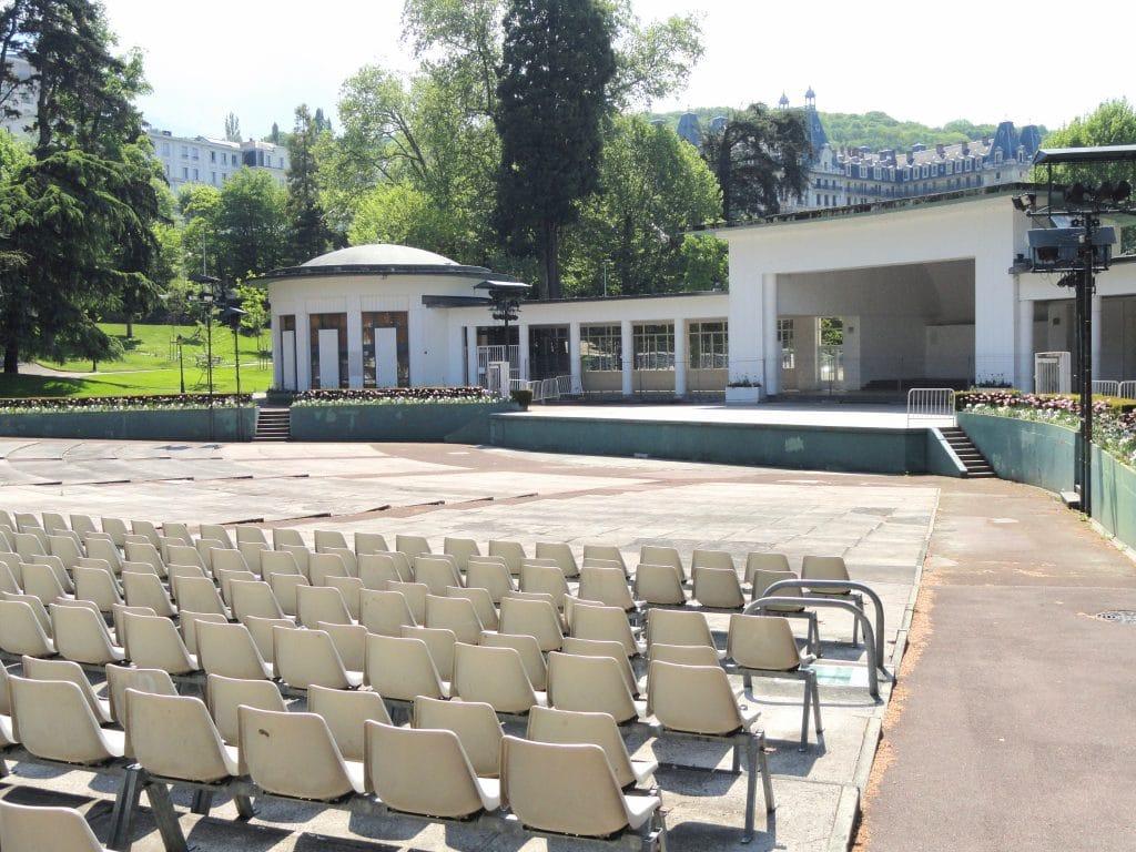 Parc thermal Aix les Bains