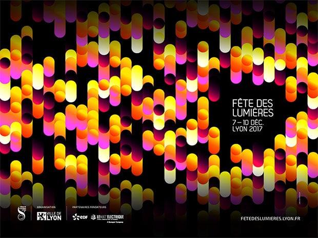 Fête des Lumières 2017 à Lyon