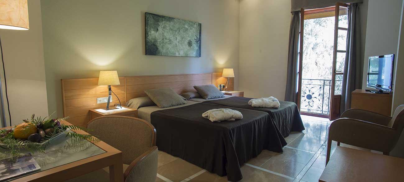 Chambre Hôtel Termas Balneario de Archenar Espagne