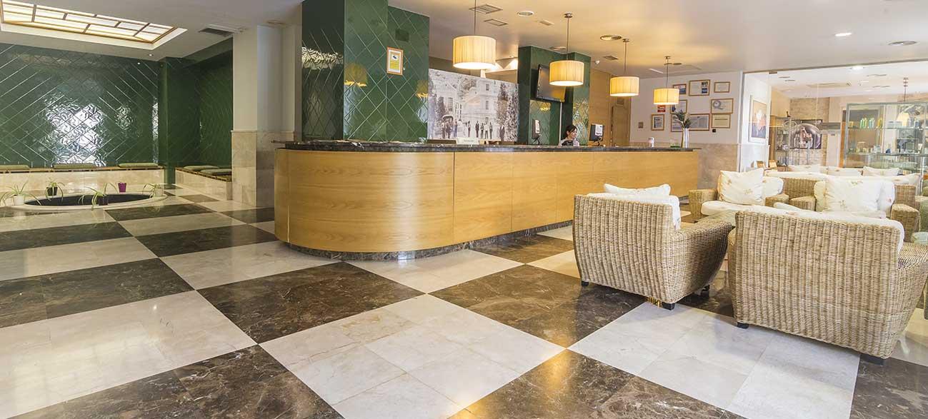 Réception hôtel Termas Balneario de Archenar Espagne