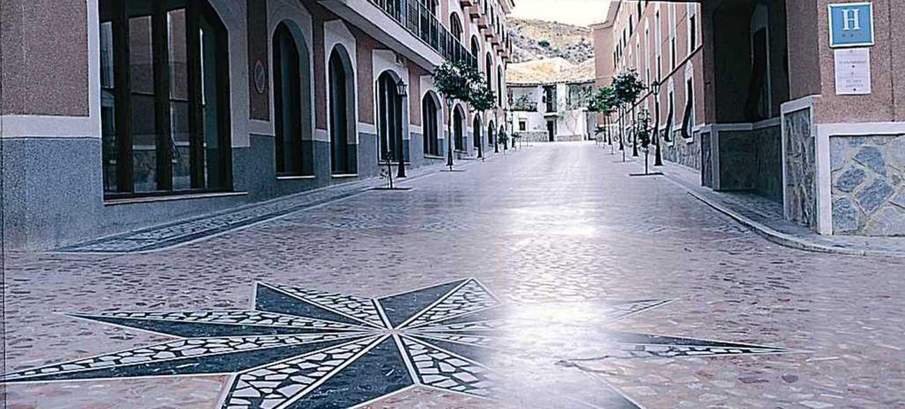 Ville de Archenar Espagne