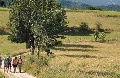 Rando terroire et patrinoine à Villard de Lans