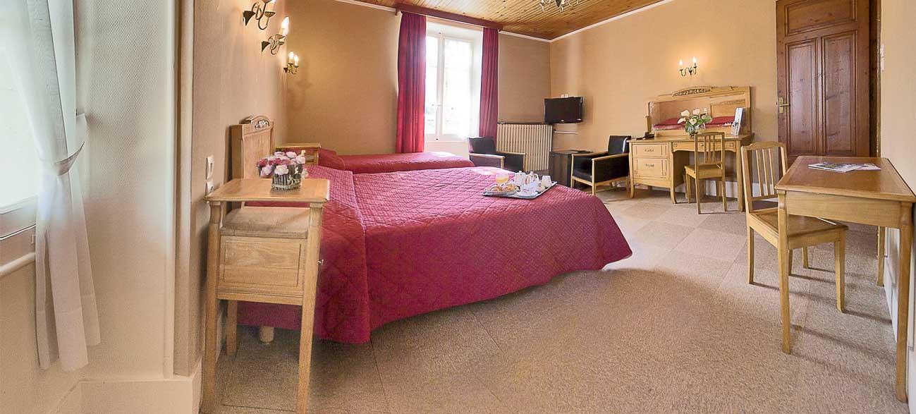 Grande chambre Hôtel et SPA à Villard de Lans