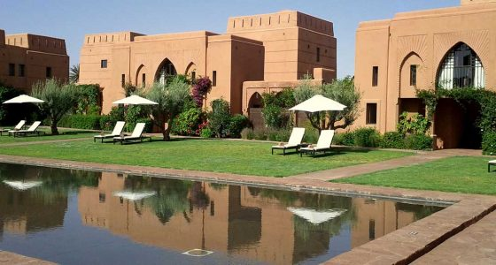 Hôtel à Marrakech au Maroc avec piscine