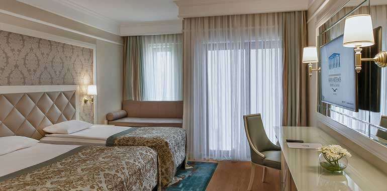 Chambre à l'hôtel Kaya Artemis 5* à Chypre