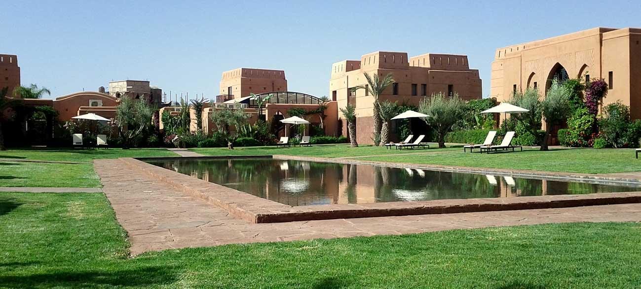 Villa à Marrakech au Maroc avec piscine