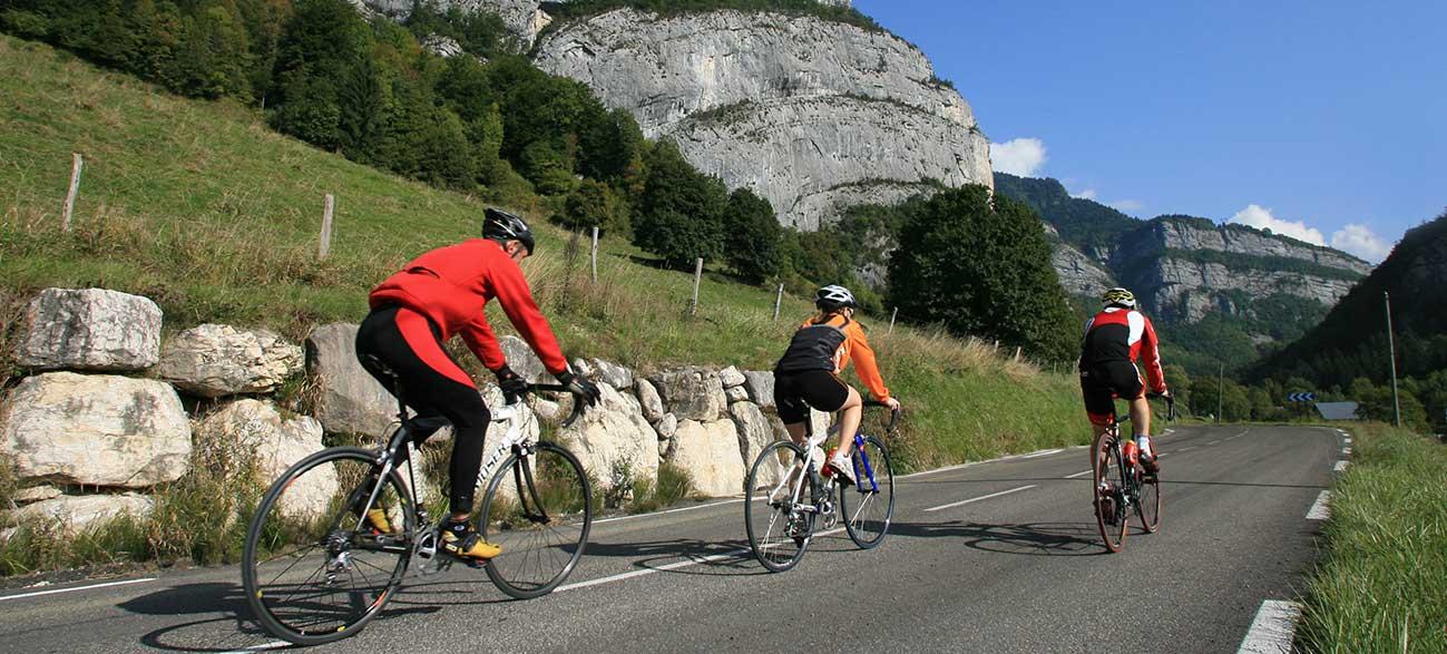 Balsae vélo à Villard de Lans