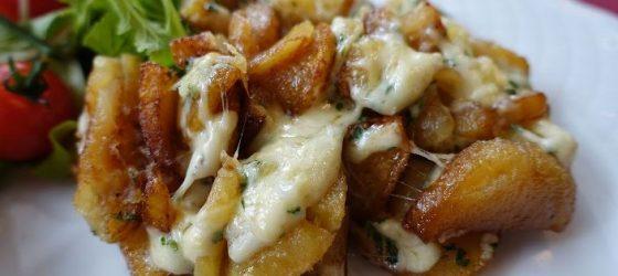 La truffade est une spécialité de la cuisine auvergnate