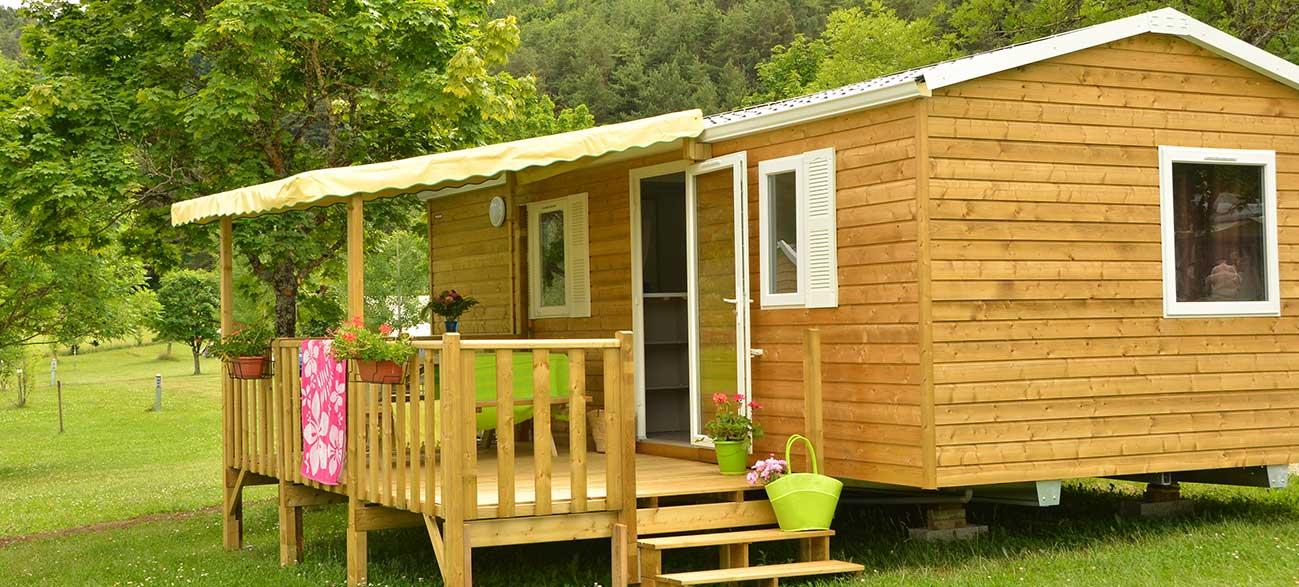Cottage en camping au coeur du parc naturel regional du Vercors
