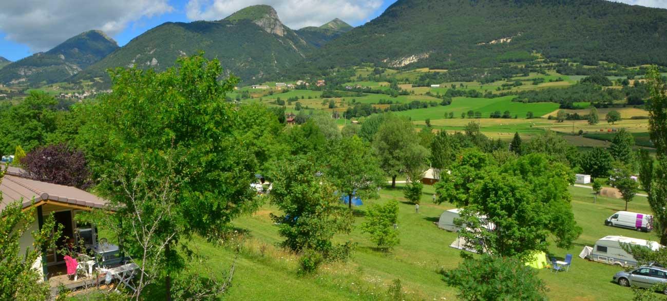Camping dans le Parc naturel regional du Vercors