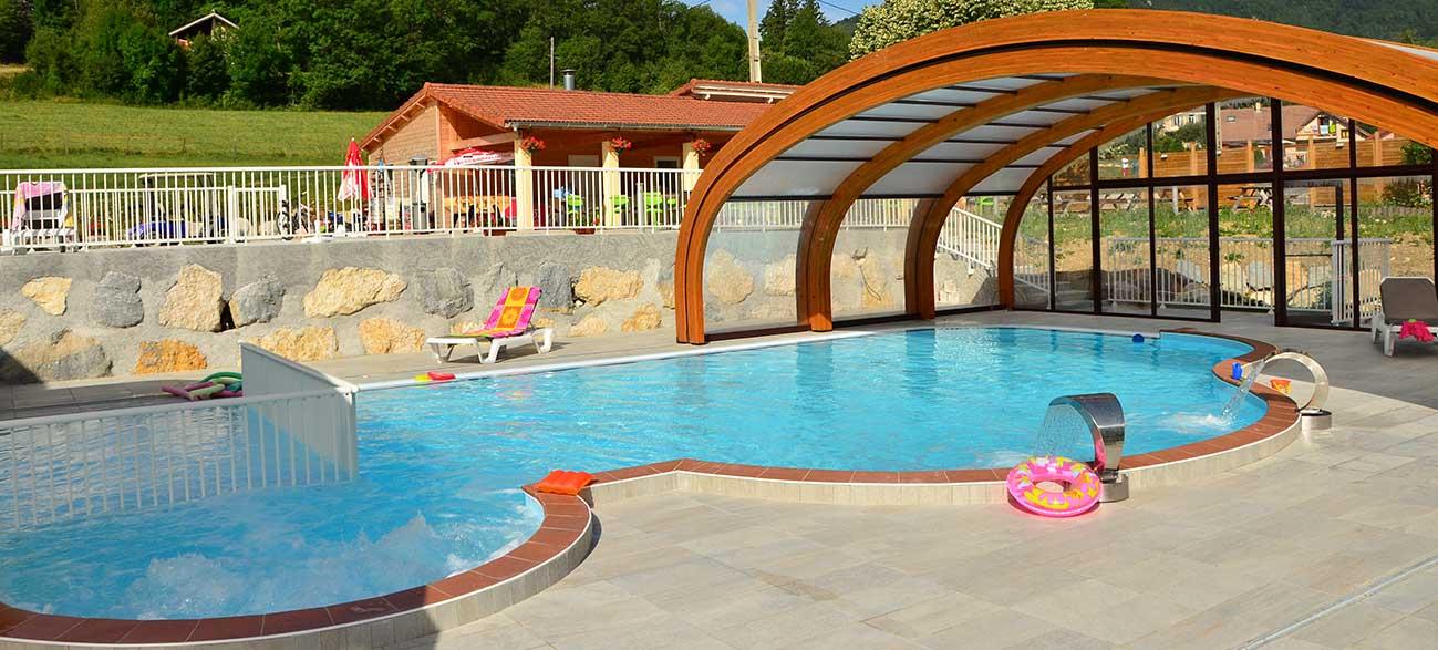 Camping avec piscine au coeur du parc naturel regional du Vercors