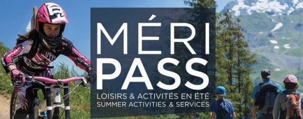 Méripass, pass activités estivales dans le domaine des 3 Vallées