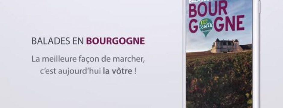 Application Balades en Bourgogne