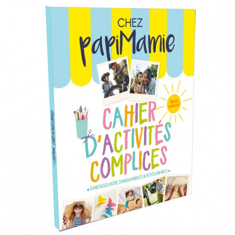 """Cahier d'activité intergénérationnelle """"Chez PapiMamie"""""""