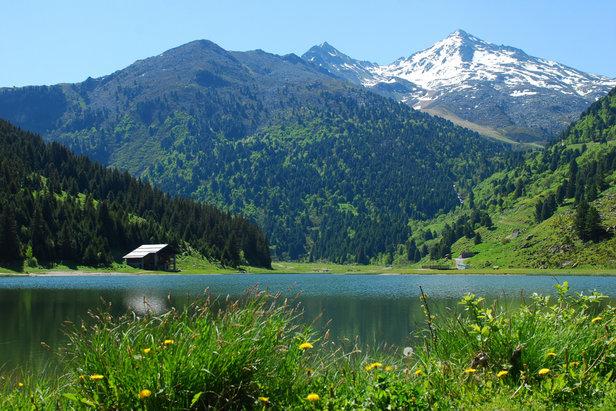 Paysage dans le domaine des 3 Vallées