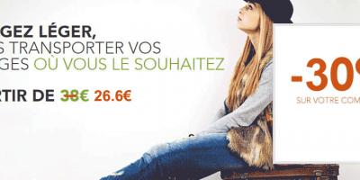 Promotion sur le service de transport de bagages SNCF