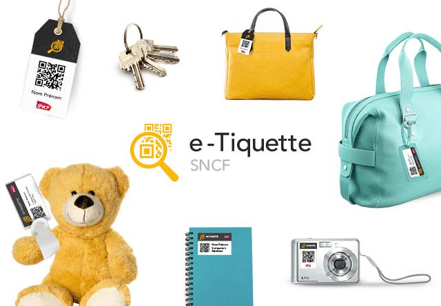 Souvent E-Tiquette: le service gratuit d'étiquette bagage à imprimer de la  HT33
