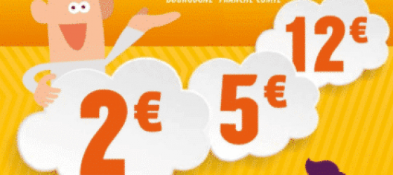 Affiche des bons plans TER Bourgogne