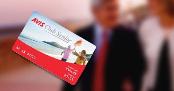 Carte Avis Club Senior