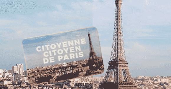 carte citoyenne citoyen de Paris
