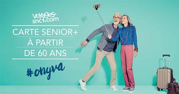 Carte senior + SNCF