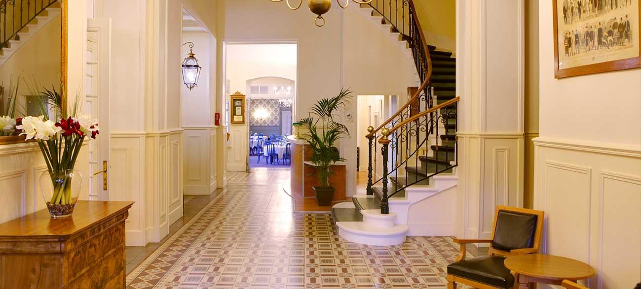 Hall de la Résidence du Grand hôtel de Paris à Villard de Lans
