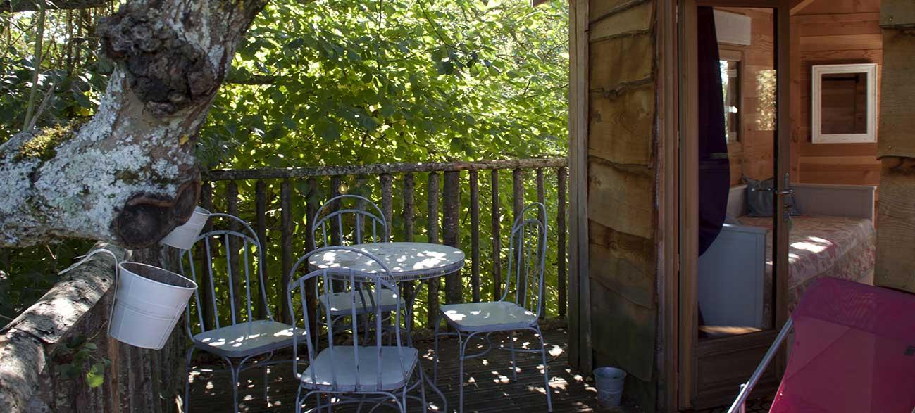 hébergement insolite cabane dans les arbres