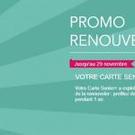 carte senior sncf renouvellement Promo renouvellement carte senior SNCF pour réaliser des économies