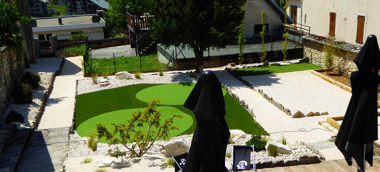 Jardin de la résidence du Grand Veymont