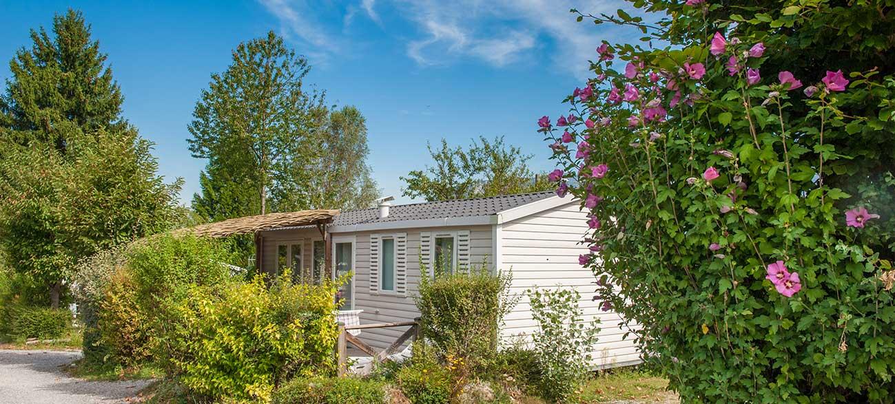 Location de mobil-home à Sèvrier à proximité du lac d'Annecy