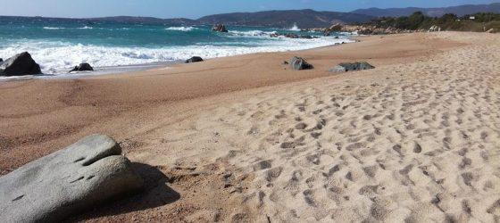 Plage cala medea Corse