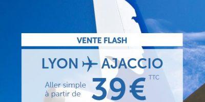 Promo Air Corsica 39 €