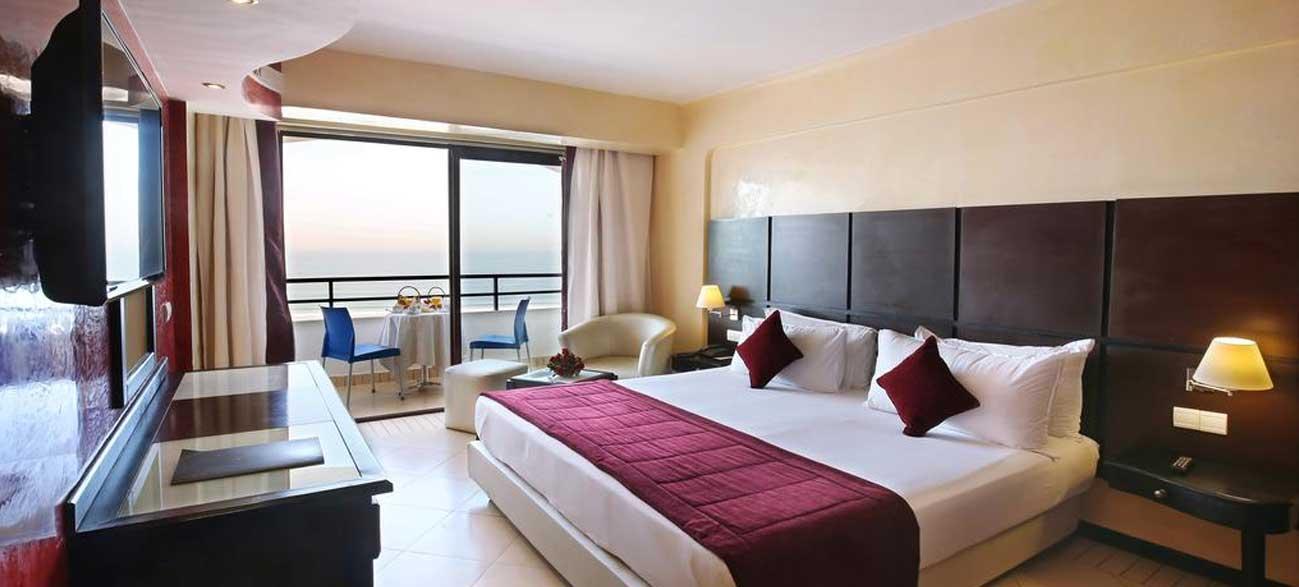 Chambre Anezi Tower Hôtel Agadir Maroc