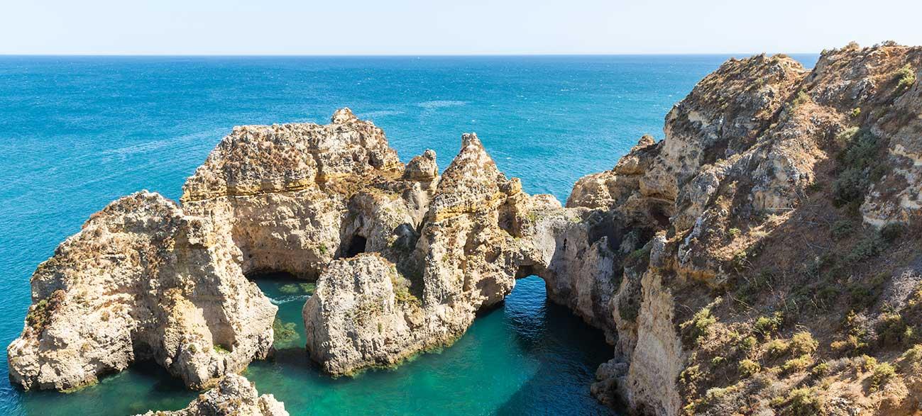 Crique en Algarve Portugal