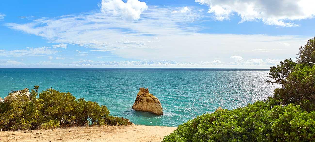 Mer en Algarve Portugal