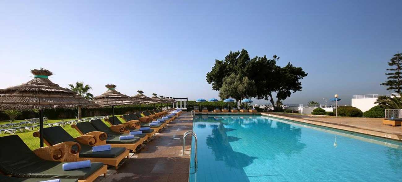 Piscine Anezi Tower Hôtel Agadir Maroc