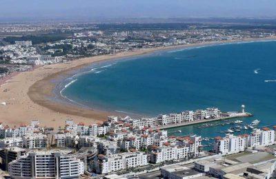 Plage Agadir Maroc