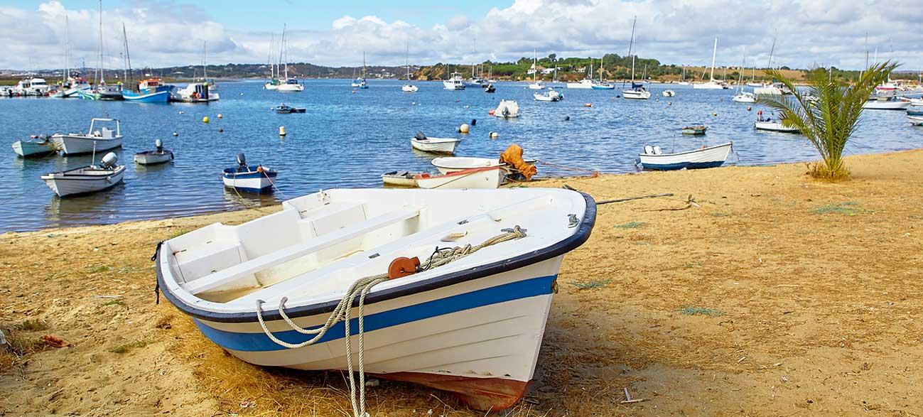 Port en Algarve Portugal