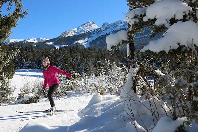 Ski de fond au Village Villard de Lans